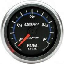 "Autometer Cobalt Series 2 1/16"" Programmable Fuel Level Gauge"