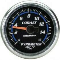 "Autometer Cobalt Series 2 1/16"" Electric Pyrometer Gauge"