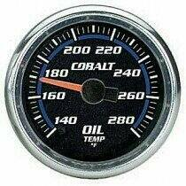 "Autometer Cobalt Series 2 1/16"" Electric Oil Temperature Gauge"