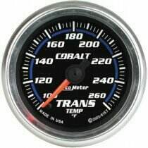 "Autometer Cobalt Series 2 1/16"" Electric Transmission Temp Gauge"