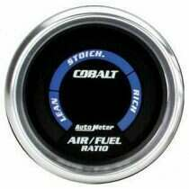 "Autometer Cobalt Series 2-1/16"" Electric Air/Fuel Ratio Gauge"