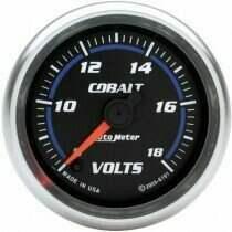 "Autometer Cobalt Series 2-1/16"" Electric Voltmeter Gauge"
