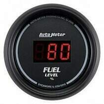 Autometer Sport Comp Digital Programmable Fuel Level Gauge