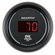 Autometer Sport Comp Digital Series 0-100psi Oil Pressure Gauge