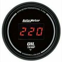 Autometer Sport Comp Digital 0-400deg Oil Temperature Gauge