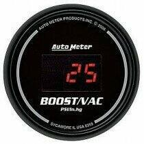 Autometer Sport Comp Digital Series -30/+30 Boost Gauge