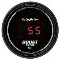 Autometer Sport Comp Digital Series 0-60psi Boost Gauge