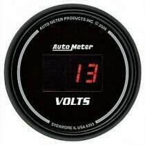 Autometer Sport Comp Digital Series 8-18v Voltmeter Gauge
