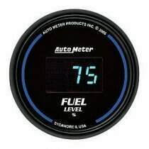Autometer Cobalt Digital Series Programmable Fuel Level Gauge