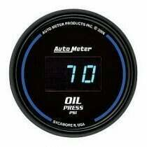 Autometer Cobalt Digital Series 0-100psi Oil Pressure Gauge