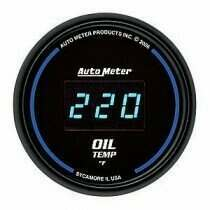 Autometer Cobalt Digital Series 0-400deg Oil Temperature Gauge