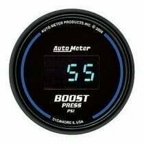 Autometer Cobalt Digital Series 0-60psi Boost Gauge