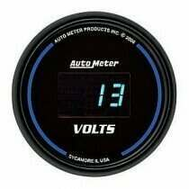 Autometer Cobalt Digital Series 8-18v Voltmeter Gauge