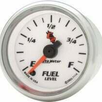 "Autometer C2 Series 2 1/16"" Programmable Fuel Level Gauge"