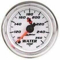 "Autometer C2 Series 2-1/16"" Electric Water Temperature Gauge"