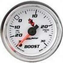 "Autometer C2 Series 2-1/16"" Electric Boost/Vacuum Gauge"
