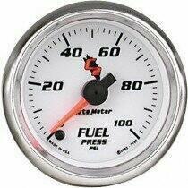 "AutoMeter C2 Series 2-1/16"" Electric Fuel Pressure Gauge"