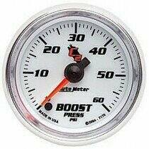 "Autometer C2 Series 2 1/16"" Electric 0-60 PSI Boost Gauge"