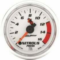 "Autometer C2 Series 2-1/16"" Electric Nitrous Pressure Gauge"