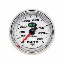 Autometer NV Series 140-280 deg. Mechanical Water Temp Gauge