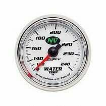 Autometer NV Series 120-240 deg. Mechanical Water Temp Gauge