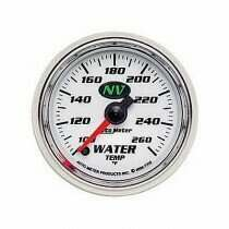 Autometer NV Series 100-260 deg. F Water Temperature Gauge