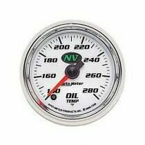 Autometer NV Series 140-280 Degree Oil Temperature Gauge