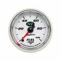 Autometer NV Series Electric 0-100 Psi Fuel Pressure Gauge
