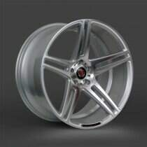 Lenso 05-2014 Mustang 20x10.5 Axe EX12 Wheel (Silver / Polished Face)