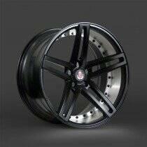 Lenso 05-2014 Mustang 20x10 Axe EX20 Wheel (Satin Black)