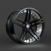 Lenso 05-2014 Mustang 22x10.5 Axe EX20 Wheel (Satin Black)