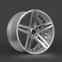 Lenso 05-2014 Mustang 22x10.5 Axe EX20 Wheel (Silver / Polished)