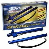 BBK High Flow Billet Aluminum Fuel Rail Kit (1996-1998 Mustang GT) - 5015