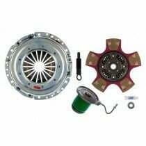 Exedy 07959PCSC Stage 4 Mach 700 Puck Style Disc Clutch Kit w/ Hydraulic Slave Cylinder (2011-2017 Mustang GT)