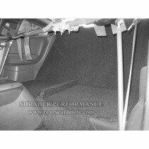 Shrader Performance 2011-2014 Mustang Rear Seat Delete (Coupe)