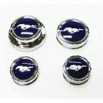 UPR 2011-2014 Mustang 5.0L Engine Bay Cap Cover Set (Blue)