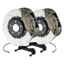 "Brembo 3K2.8040AGT Front Brake Kit 14"" (355mm) 2-Piece Rotors (2005-2014 Mustang)"