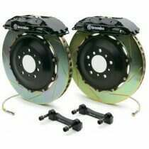 Brembo 94-04 Mustang Gran Turismo Front 332mm Brake Kit w/ 2pc Slotted Rotors and 4 Piston Calipers