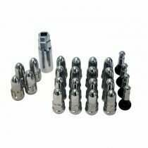 Chrome Bullet Style Lug Nuts (Set of 20)