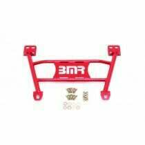 BMR Suspension CB004R 2005-2014 Mustang Front Chassis Brace (Red)