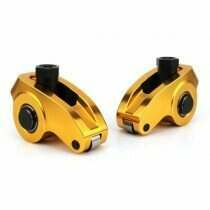 "Comp Cams Small Block Ford Ultra-Gold™ ARC Series Aluminum Rocker Arms: 3/8"" Stud, 1.6 Ratio"
