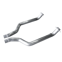 "American Racing Headers CHA-15300234DPNC 3"" x 2-2/4"" Hemi Down Pipes - Direct fit to Stock (2015-2019 Charger / Challenger / Demon 6.2L & 6.4L)"