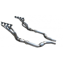 """American Racing Headers CHRHC-15200300LSWC Long System 2"""" x 3"""" With Cats (2015-2019 Charger SRT Hellcat)"""