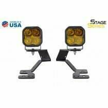 Diode Dynamics - SS3 LED Ditch Light Kit For 2021 Ford Bronco Sport  Pro Yellow Combo (2021-2021 Bronco Sport) - DD7141