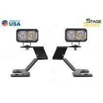 Diode Dynamics - Stage Series 2In LED Ditch Light Kit For 2021 Ford Bronco Sport  Sport White Combo (2021-2021 Bronco Sport) - DD7142