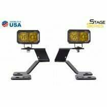 Diode Dynamics - Stage Series 2In LED Ditch Light Kit For 2021 Ford Bronco Sport  Pro Yellow Combo (2021-2021 Bronco Sport) - DD7145