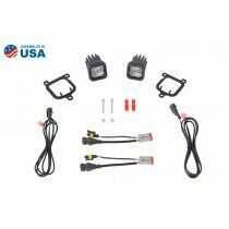 Diode Dynamics - SSc1 Type Fbs LED Fog Light Kit White SAE Fog (2021-2021 Bronco Sport) - DD7174