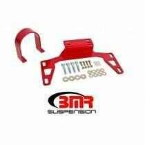 BMR Suspension DSL017R Front Driveshaft Loop - Red (2011-2020 Mustang 5.0L GT / V6)