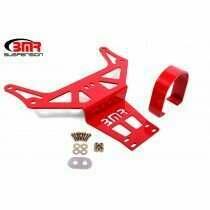 BMR DSL111R Front Driveshaft Safety Loop-Red (2015+ Dodge Challenger Hellcat And Demon)