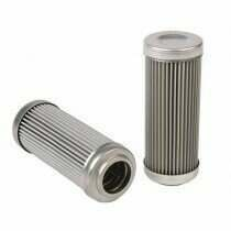 DivisionX 10 Micron Wire Mesh Washable Replacement Filter Element (E85 and Flex Fuels)